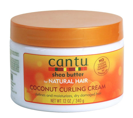 CANTU - Shea Butter for Natural Hair / Coconut Curling Cream 340g