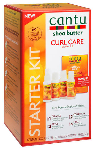 CANTU - Shea Butter Curl Care Starter Kit / Lockenpflege Starter Kit